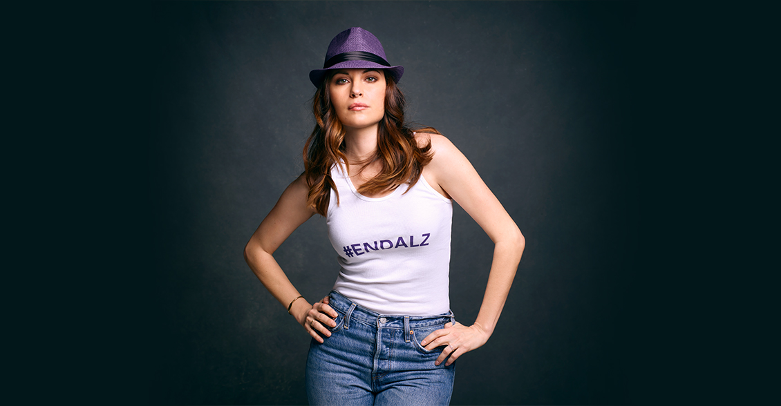 Jill Flint fights to #ENDALZ.