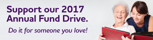 Support our 2017 Annual Fund Drive.