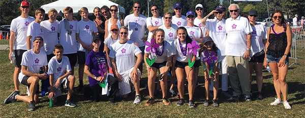 The Judy Fund Walk to End Alzheimer's Chicago Team