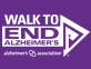Walk to End Alzheimers Button