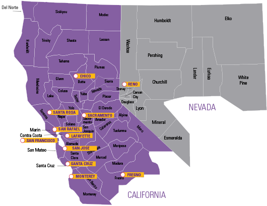 The Northern California And Northern Nevada Chapter Of The Alzheimer S Association Has 11 Offices Serving 58 Counties We Offer Support Groups