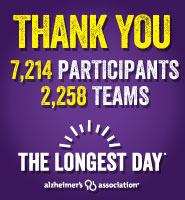 Thank You to The Longest Day participants and teams!