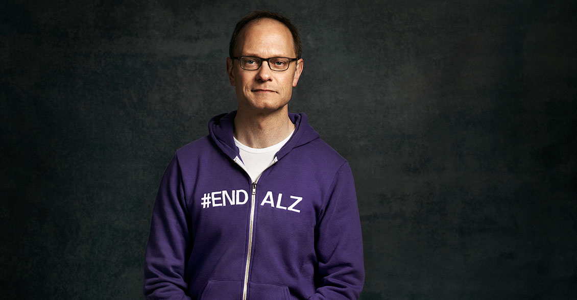 David Hyde Pierce champions the cause and pledges his support to #ENDALZ.