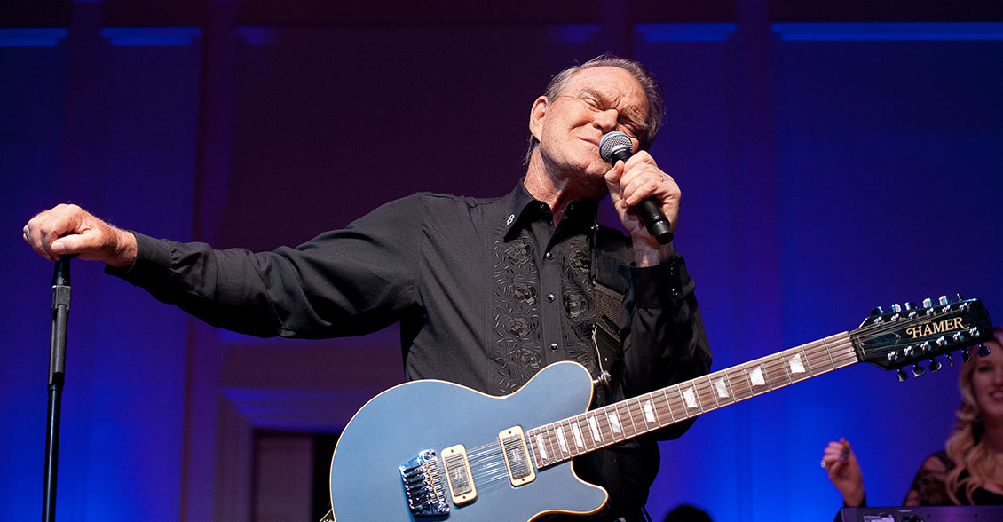 Glen Campbell bravely shared his diagnosis and created awareness in front of Congress.