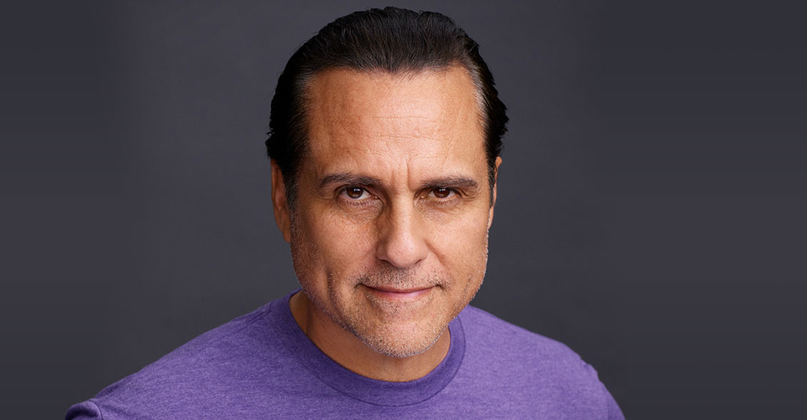 Actor Maurice Benard portrays character Sonny Corinthos on 'General Hospital', highlighting Alzheimer's through a father-son caregiving storyline.