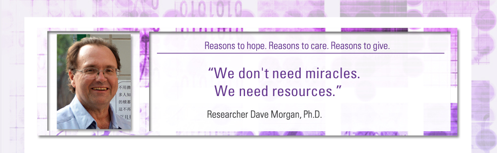 """We don't need miracles. We need resources."""