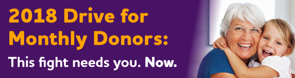 2018 Drive for Monthly Donors: This fight needs you. Now.