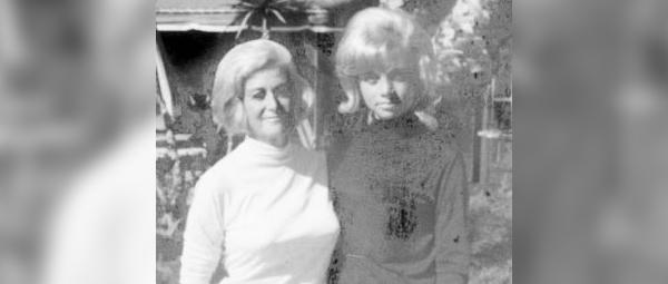 Gertrude Jaffe and her daughter, Judy Jaffe Gelfand.