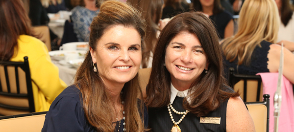 On May 10 at the Waldorf Astoria Beverly Hills A Reason to Hope brought together 150 women who inspire, including Alzheimer's Champion Maria Shriver and Chair of The Judy Fund Elizabeth Gelfand Stearns.