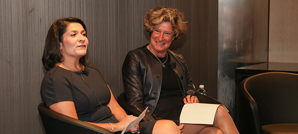 Dr. Maria Carrillo and Dr. Jill Kalman led a Mind&Heart panel discussion in NYC
