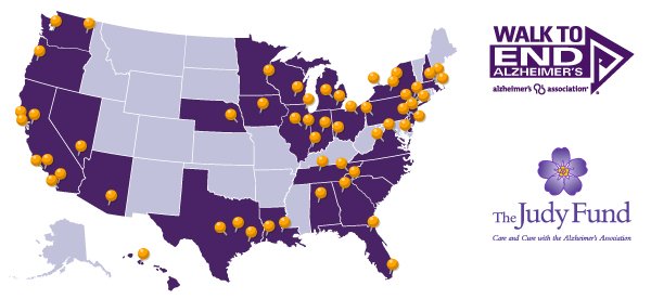 The Judy Fund National Walk Team drew 775 participants on 69 teams, in 54 cities across 29 states.
