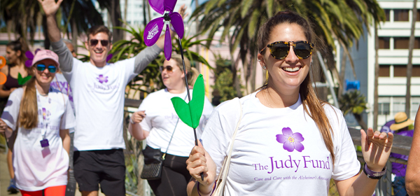 Find a Judy Fund Walk team in your area, and have fun for a great cause!