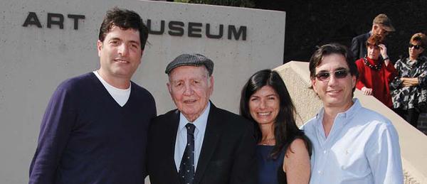 At the Palm Springs Art Museum's Walk of Stars, Dean Gelfand, Marshall M. Gelfand, Elizabeth Gelfand