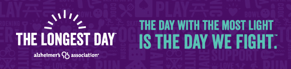 Start now. Select your activity at alz.org/thelongestday.