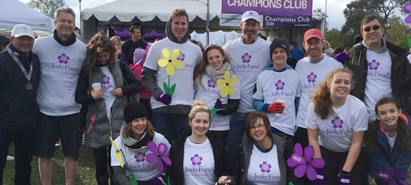 David Berry and Walk to End Alzheimer's Team