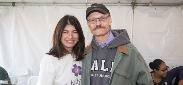 Look who joined us at last year's NYC Walk to End Alzheimer's!