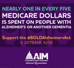 Tell Congress to pass the BOLD Infrastructure for Alzheimer's Act