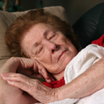 Sundowning is common with people living with Alzheimer's