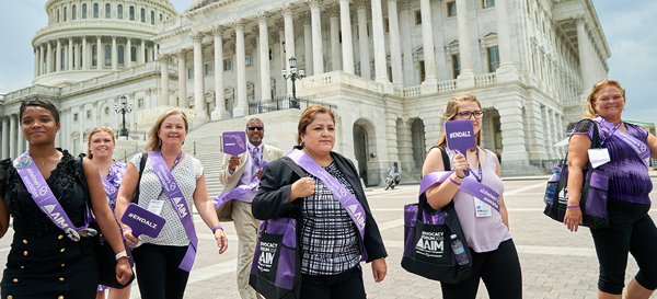 The Judy Fund has a strong presence at the nation's premier Alzheimer's disease advocacy event.