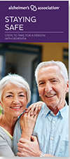 Staying Safe: Steps to take for a person with Alzheimer's