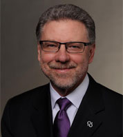 Harry Johns, president and chief executive officer of the Alzheimer's Association