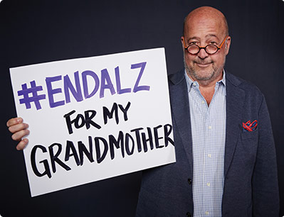 Chef and TV host Andrew Zimmern fights Alzheimer's in honor of his grandmother Pauline.