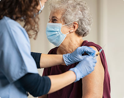 Research suggests that vaccinations for common viral and bacterial infections could lead to a reduced risk of Alzheimer's.