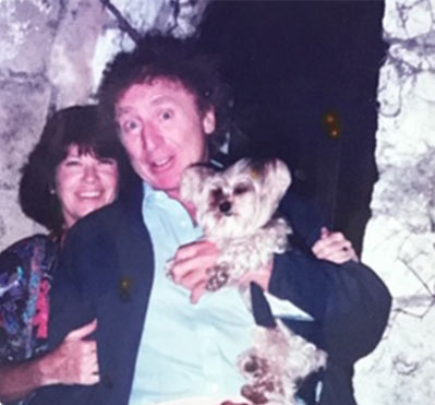 Gene Wilder was married to his wife, Karen, for 25 years.