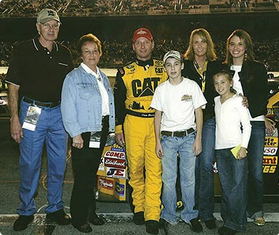 Ryan Blaney was destined to go into the family business of racing, following in the tracks of his grandfather, Lou, and his father, Dave.