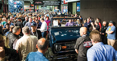 A custom Ford Bronco auctioned on behalf of the Ryan Blaney Family Foundation raised $650,000 to fight Alzheimer's.