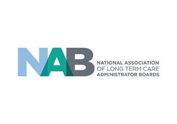 NAB (National Assoc of Long Term Care Administrator Boards)