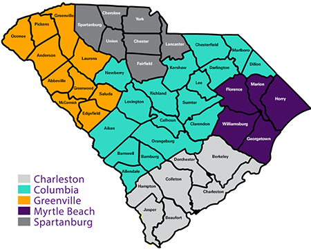 South Carolina Chapter on map of oglethorpe, map of al counties, map of oregon counties, map of brantley, map of nc counties, map of hall, map of missouri counties, map of kentucky counties, map of southern nj counties, map of habersham, map ar counties, map of co counties, map of cook, map of johnson, map of thomas, map of tl counties, map of alabama counties, map of colquitt, south carolina counties, map of nm counties,